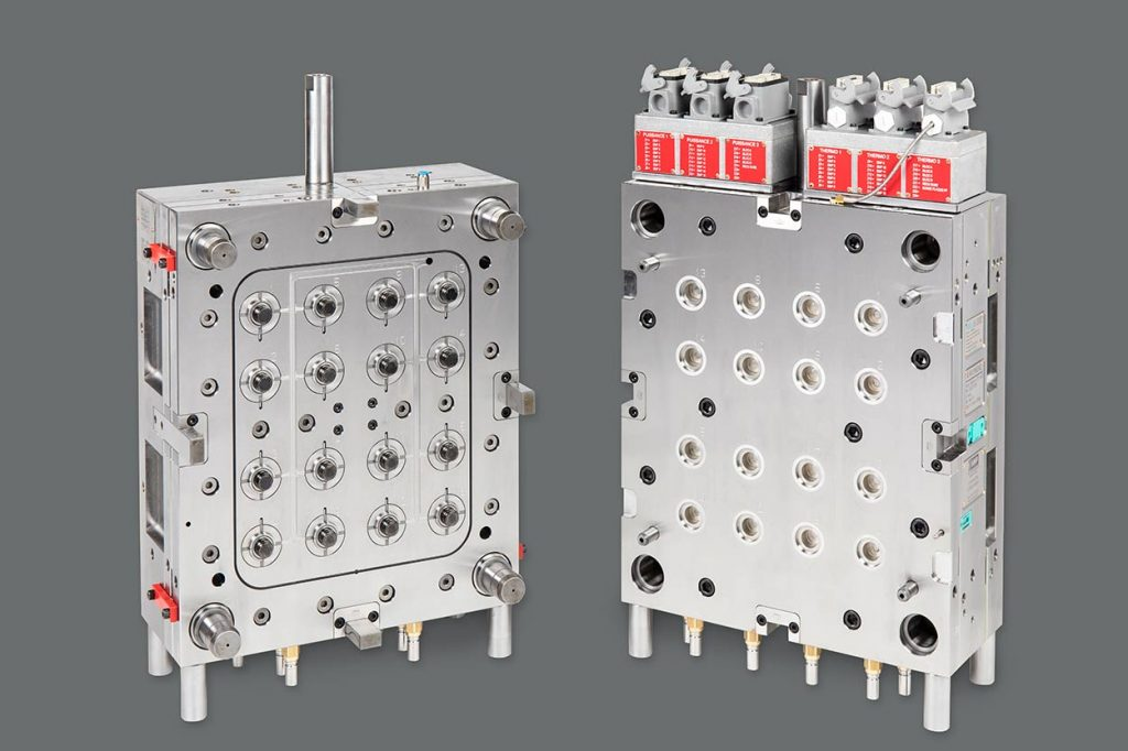 16-cavity mould for breakable capsule