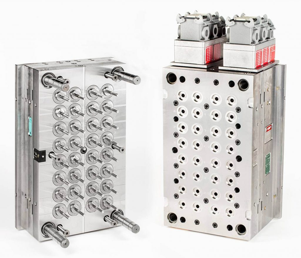32-cavity mould for breakable body