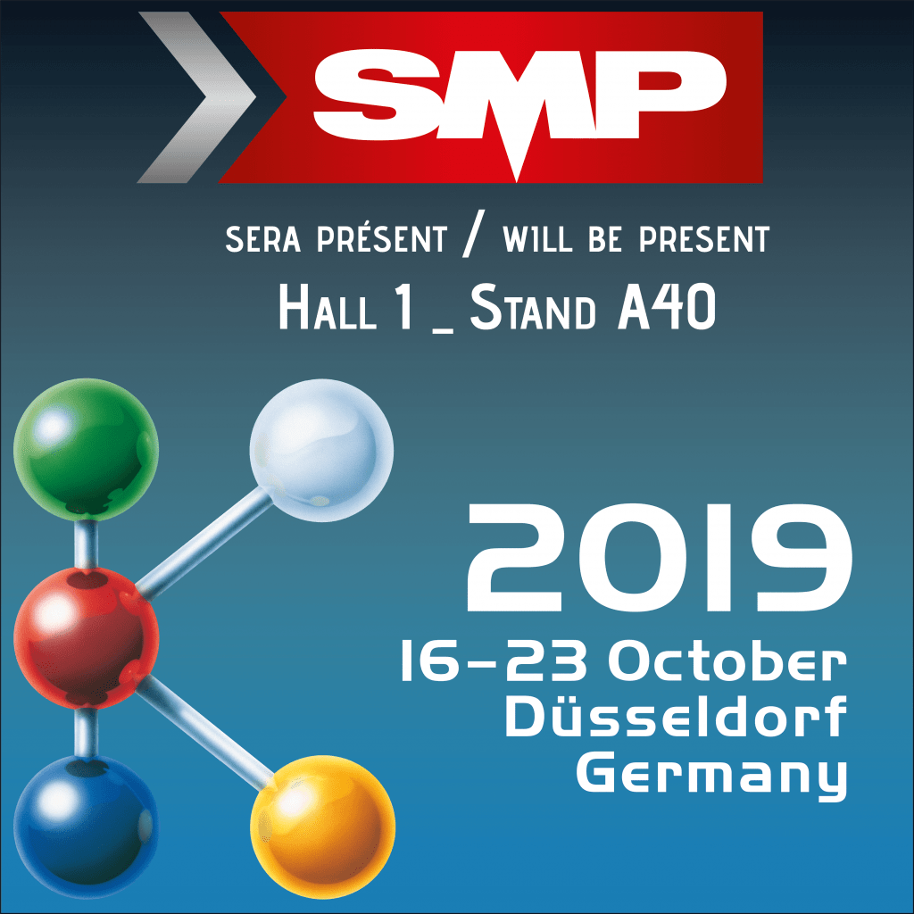 SMP sera présent au salon K à Düsseldorf, du 16 au 26 Octobre 2019 !