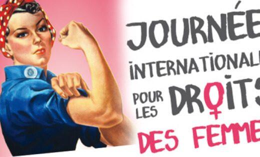 Affiche journée internationale pour les droits des femmes